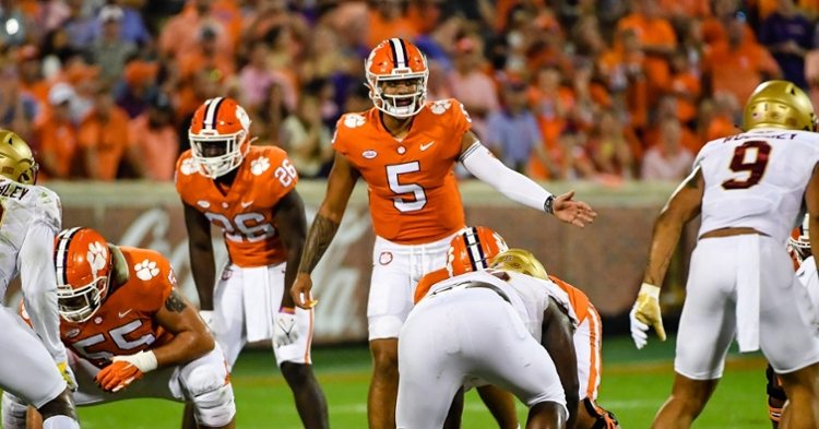 Uiagalelei is at the forefront of Clemson's less-than-stellar passing attack.
