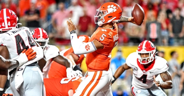Clemson's offense only scored three points against UGA (Jim Dedmon - USA Today Sports)