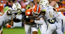 Clemson drops in the Coaches Poll