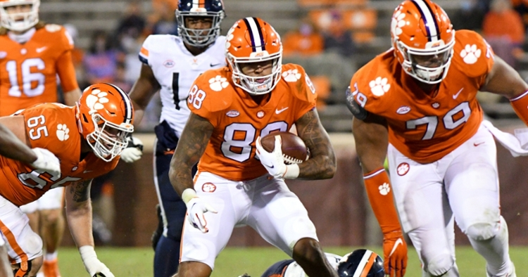 Final grades: After strong start, Clemson tight end group has mixed results