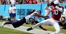 Lebron James impressed by DeAndre Hopkins' impressive footwork on touchdown