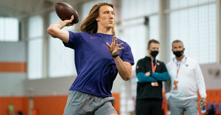 Lawrence had an exceptional Pro Day (Photo: Clemson)