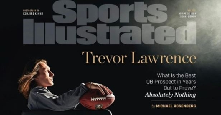 LOOK: Trevor Lawrence on cover of Sports Illustrated