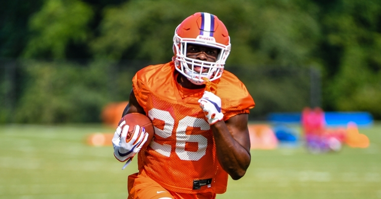 Mafah should see his season debut with the injury to Will Shipley.