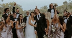 PHOTOS: Trevor Lawrence and Marissa Mowry get married Part 3