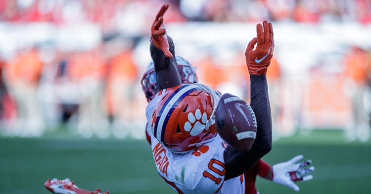 Clemson's receivers have missed on some of their opportunities.