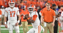 Tony Elliott on why Clemson isn't rotating QBs, the playbook, and tempo