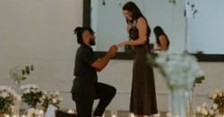 Darien Rencher gets engaged to his girlfriend