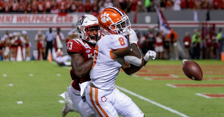 Clemson lost their first road game of the season on Saturday
