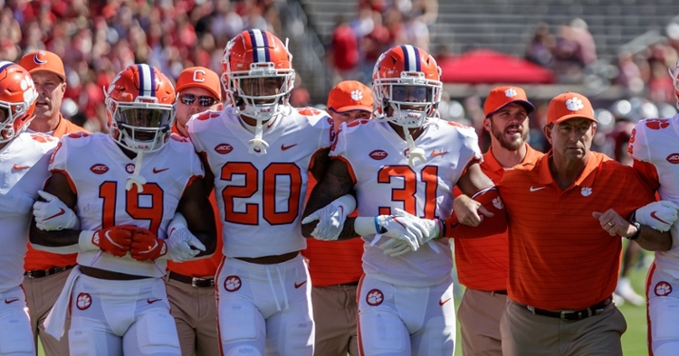 Clemson stays in latest Coaches Poll