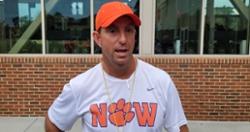 Camp Insider: Swinney compares freshman quarterback to Doug Flutie