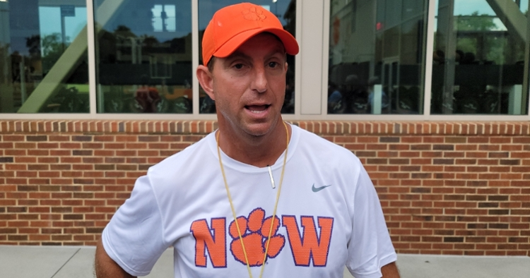 Swinney said that his team has responded in a big way this week.