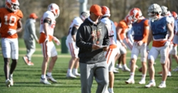 Monday Notebook: Saturday scrimmage note, optimism on Dabo summer football camps