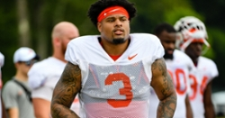 Camp Insider: A Michael Dean Perry comparison for one tackle, while Thomas shines