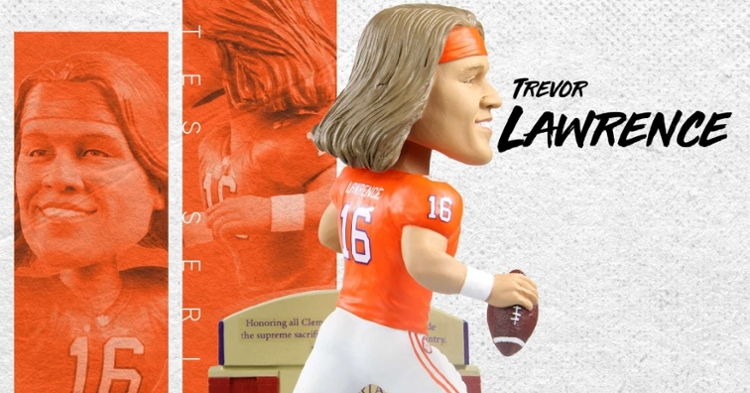 This is a limited edition Lawrence bobblehead out of only 144