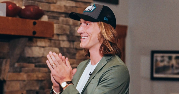 Trevor Lawrence leaves quite a legacy in Clemson and is ready for a lot more in the NFL (Photo per Lawrence's Twitter).