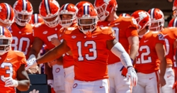 Clemson starting DT out for several weeks after suffering injury