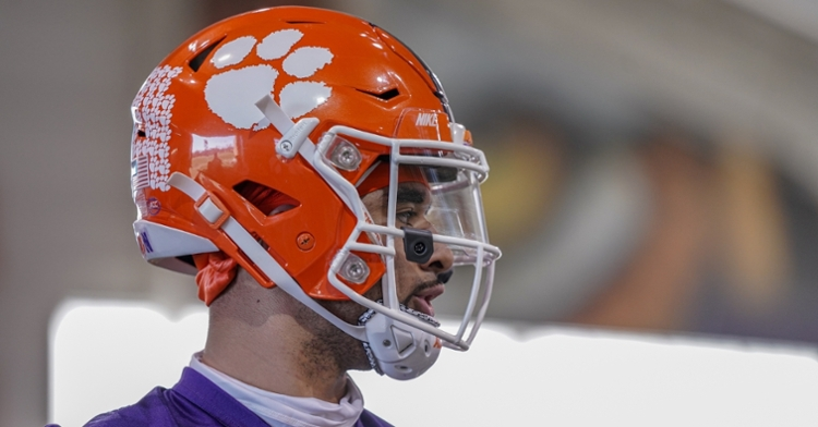 Uiagalelei is ready to take the reins of the Clemson offense. (Photo courtesy CUAD)