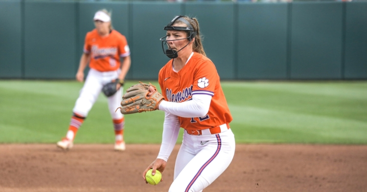Cagle delivered yet another complete game to earn the win. (Clemson athletics file photo)