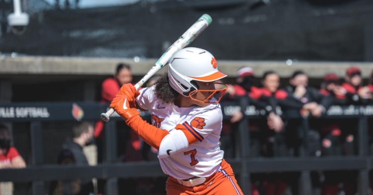 McKenzie Clark and Valerie Cagle earned first-team All-ACC and all-freshman honors.