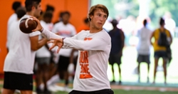 Clemson QB commit, a rap legend, and female kicker highlight early Friday camp