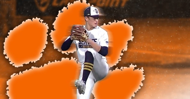 Dvorsky committed to Clemson Sunday.