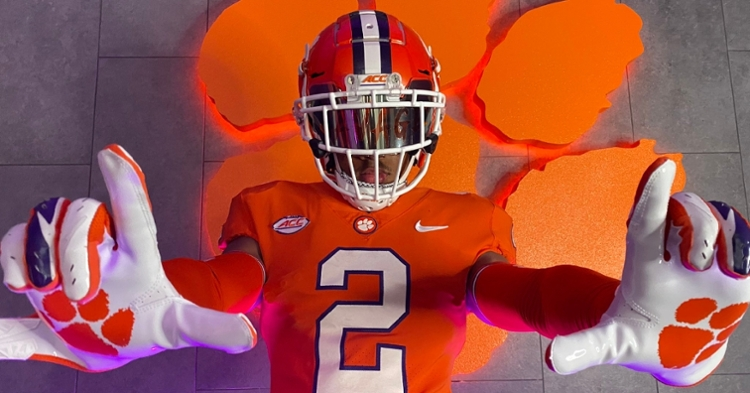 Harris visited Clemson in early June.