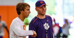 """Elite Clemson QB commit """"can't imagine being anywhere else"""" after visit"""